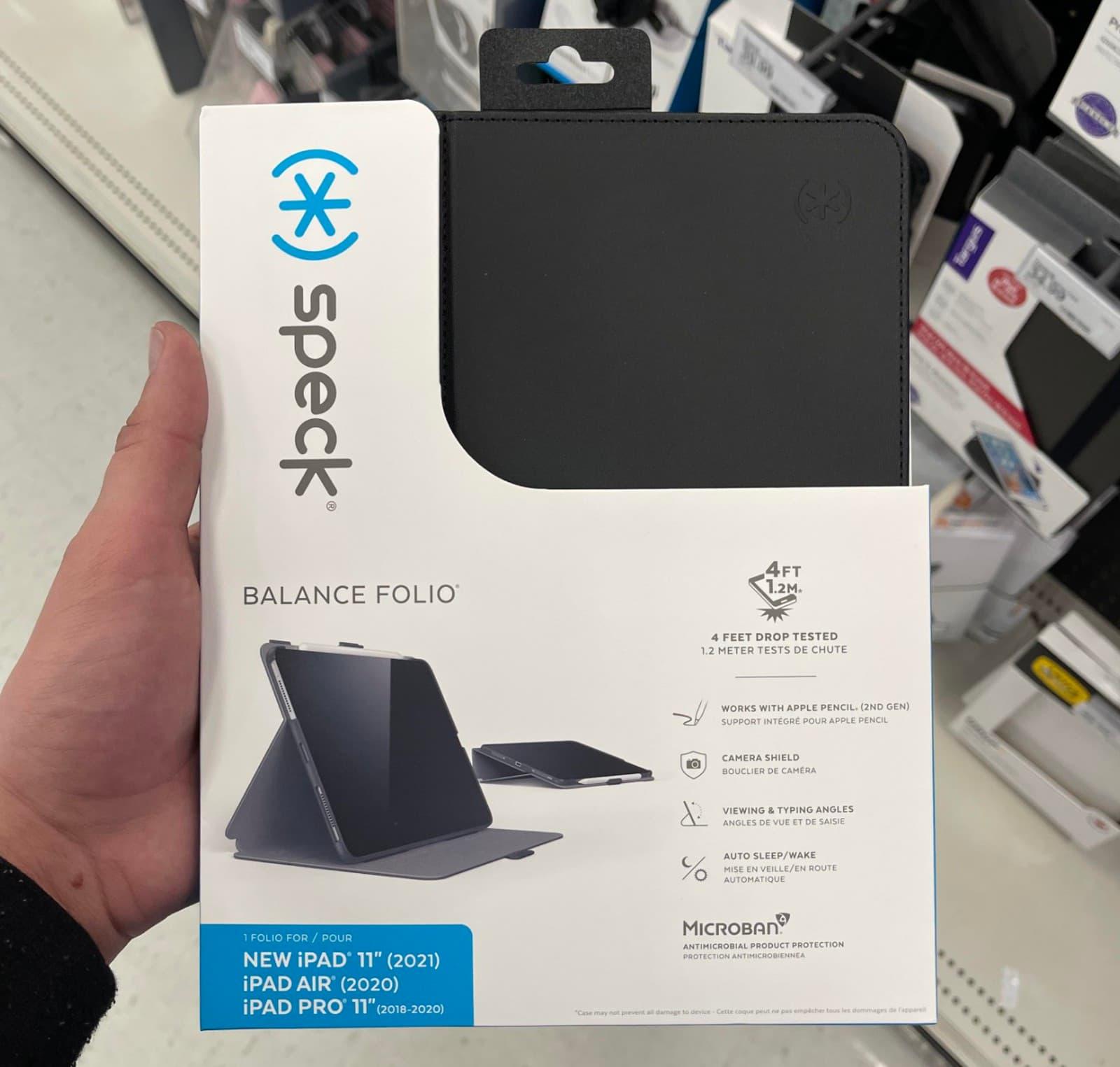 2021款iPad Pro保護殼在國外賣場曝光,店員暗示4月開賣1
