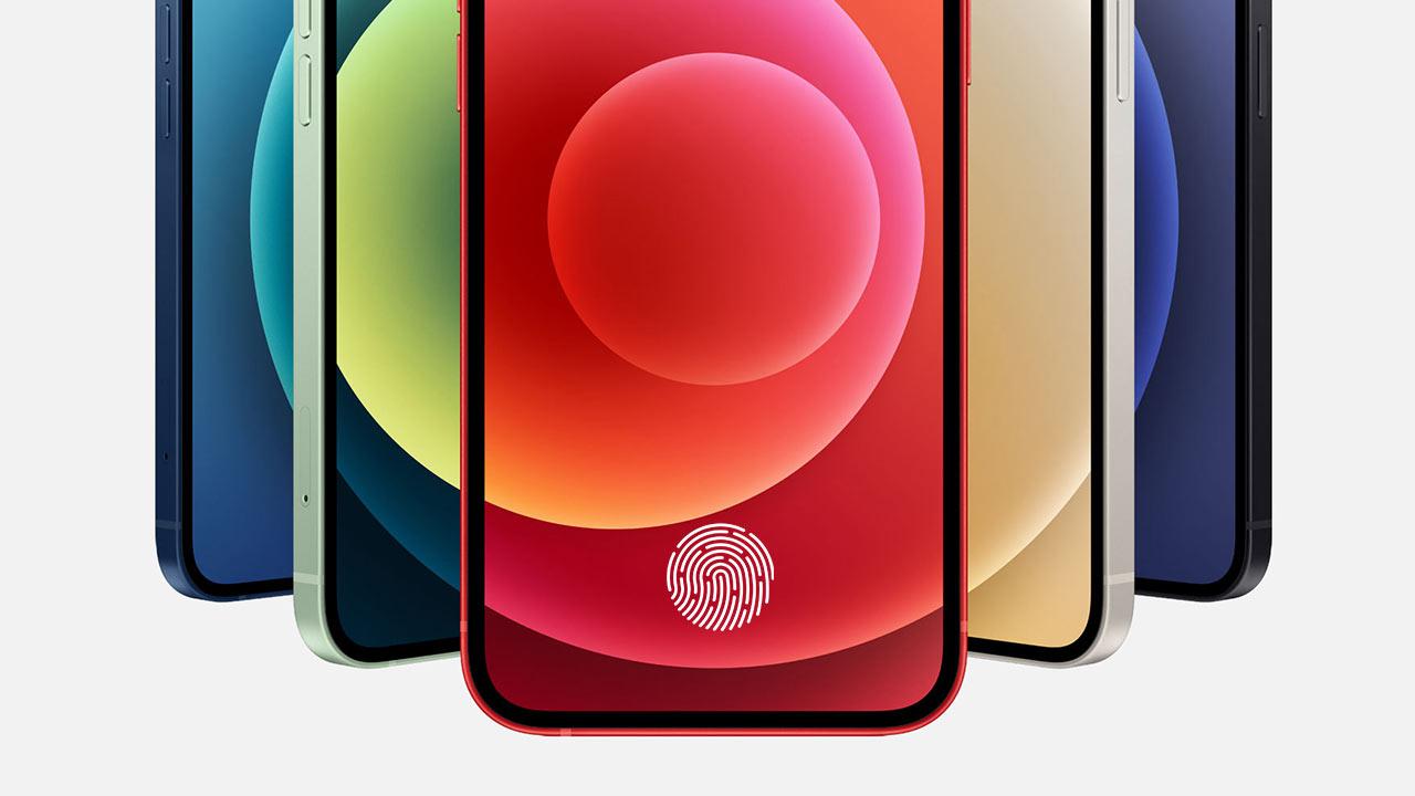 蘋果取得進階「螢幕下指紋」專利,安全辨識優於安卓