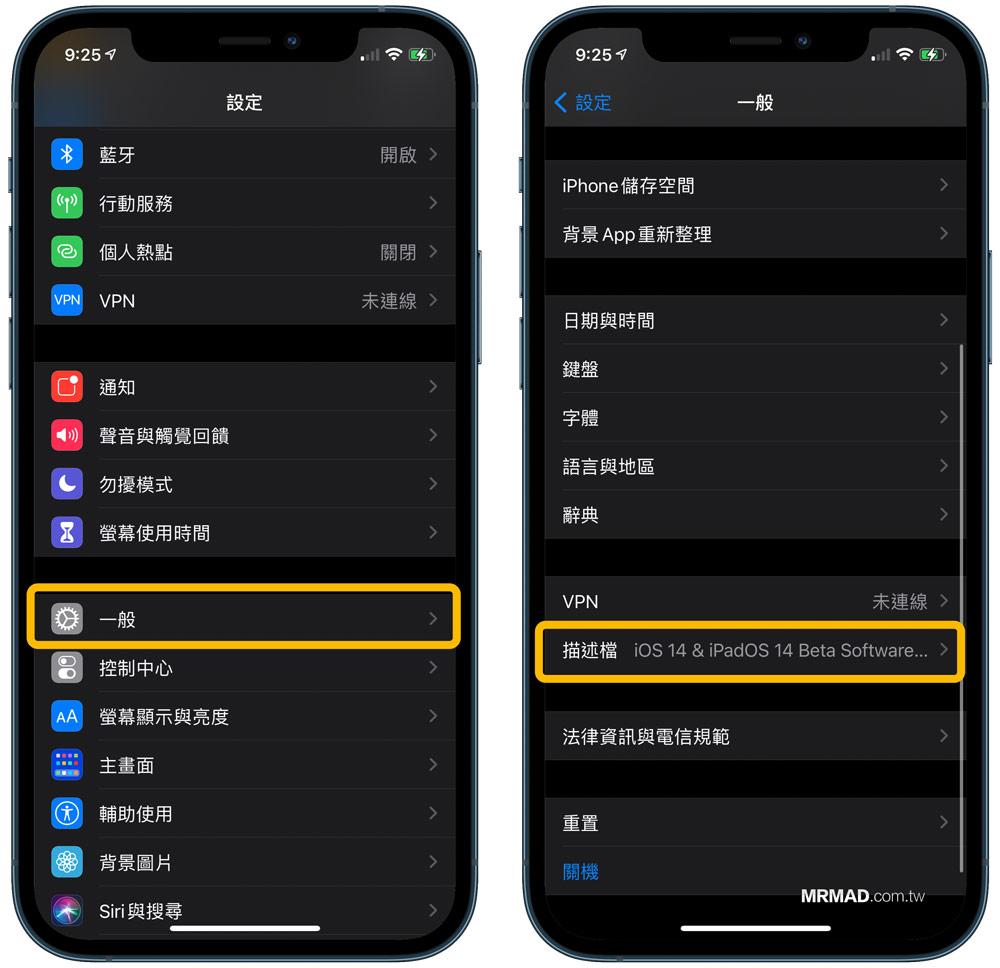 如何替 iPhone / iPad 刪除Beta描述檔案(iOS 14 Beta刪除步驟)