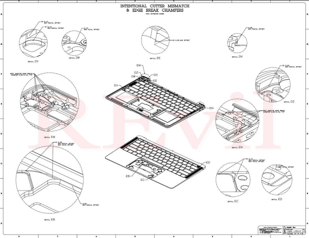 駭客公開2021 MacBook Pro設計圖,揭露新款外觀設計2