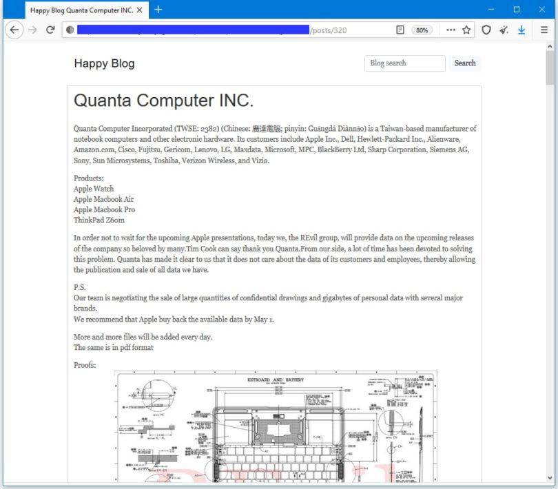 Hacker reveals the design of the 2021 MacBook Pro ...