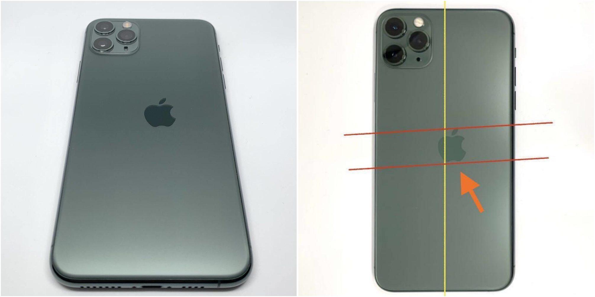 全球限量版iPhone 11 Pro 獨特Apple標誌偏移以高價售出1