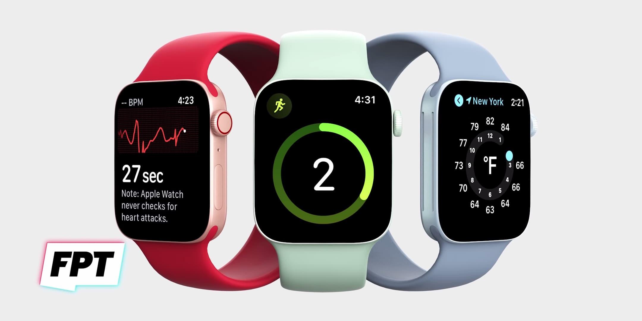 Apple Watch Series 7 外型曝光 採平整邊框和「綠色」新配色1