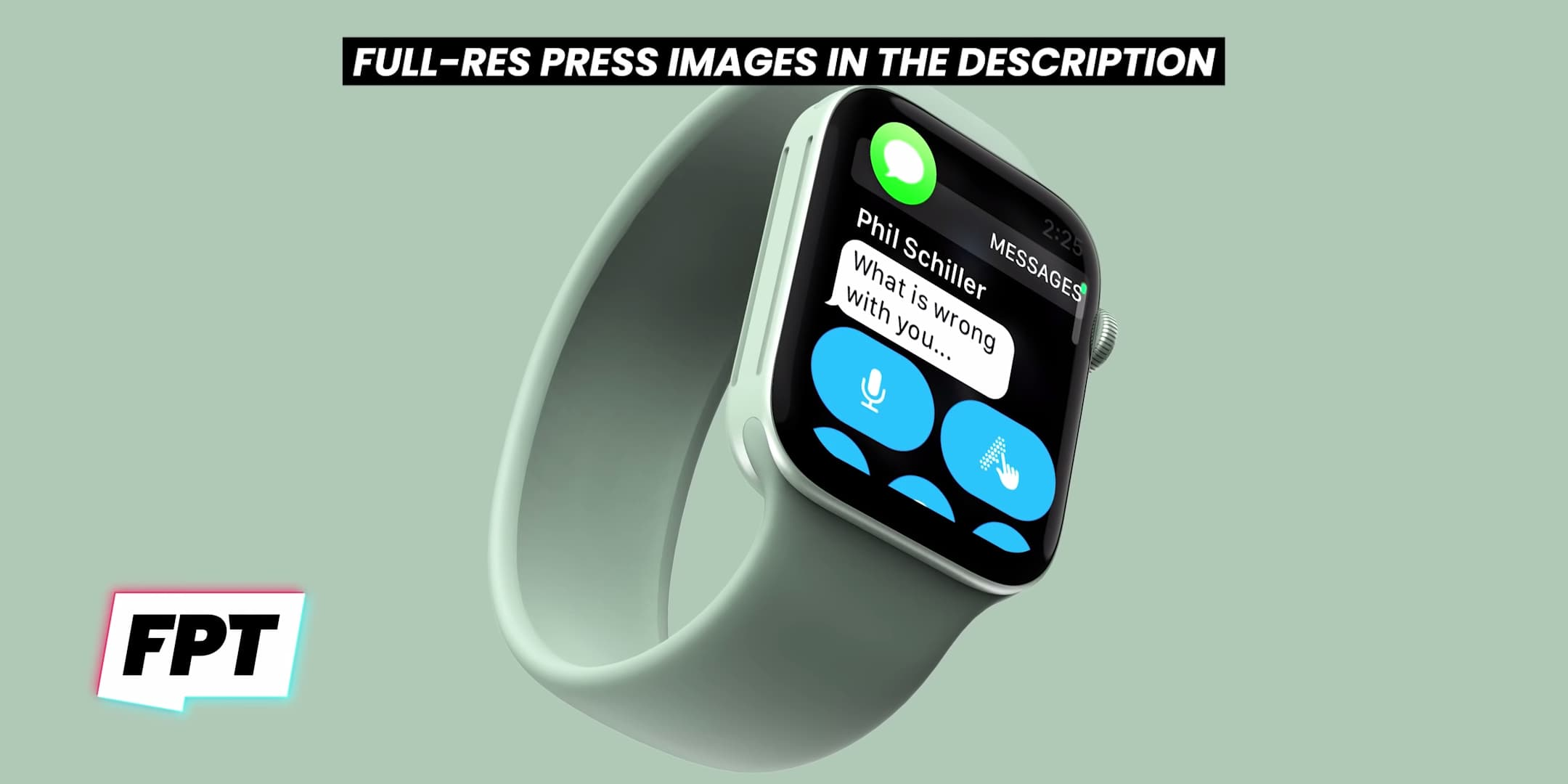 Apple Watch Series 7 外型曝光 採平整邊框和「綠色」新配色3