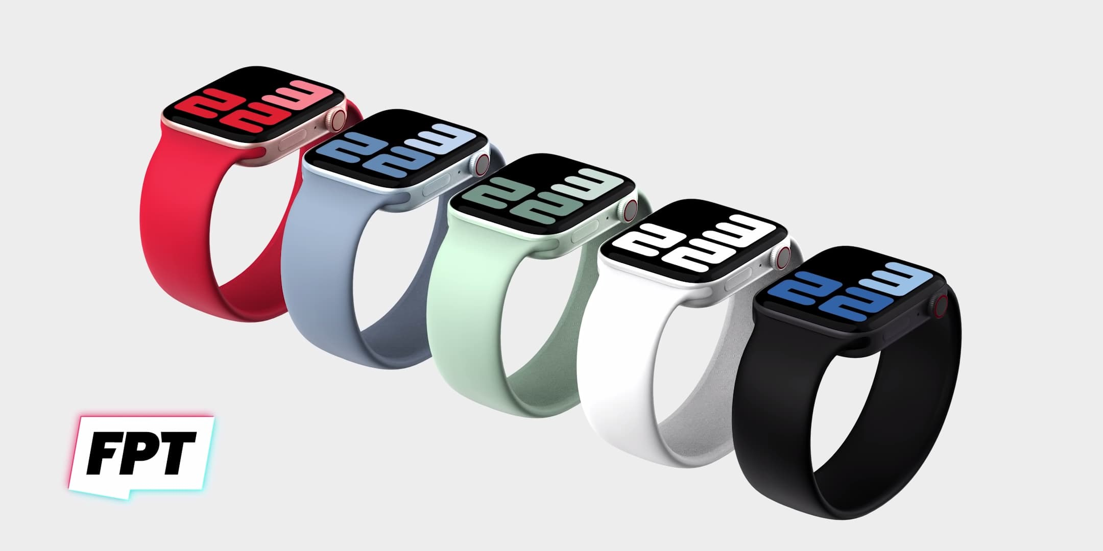 Apple Watch Series 7 外型曝光 採平整邊框和「綠色」新配色4