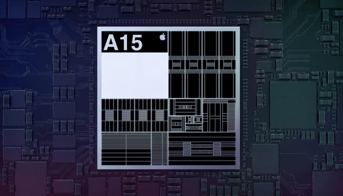 A15仿生晶片採用台積電5nm+ 製程