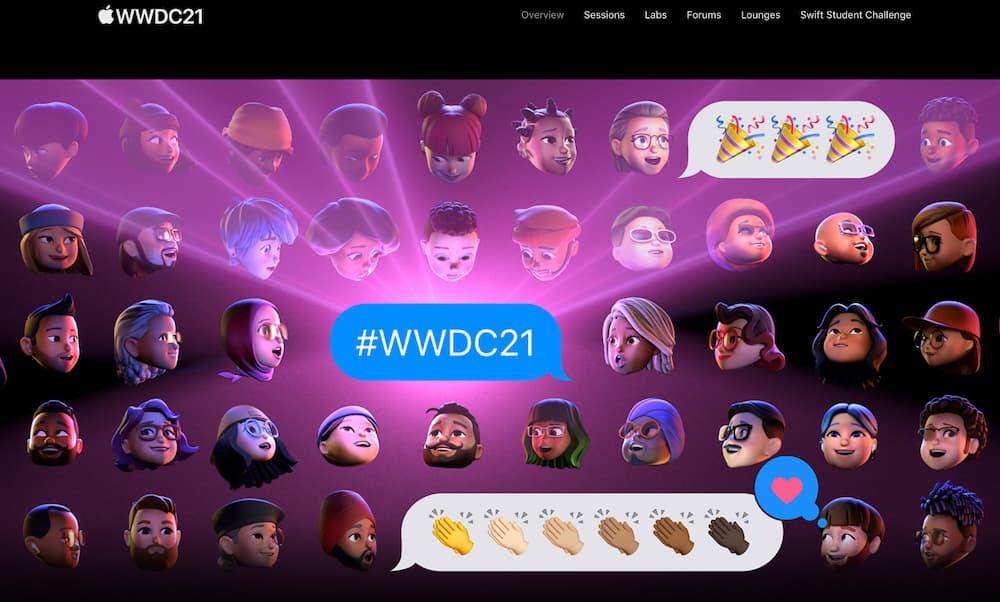 Apple開發者WWDC2021直播