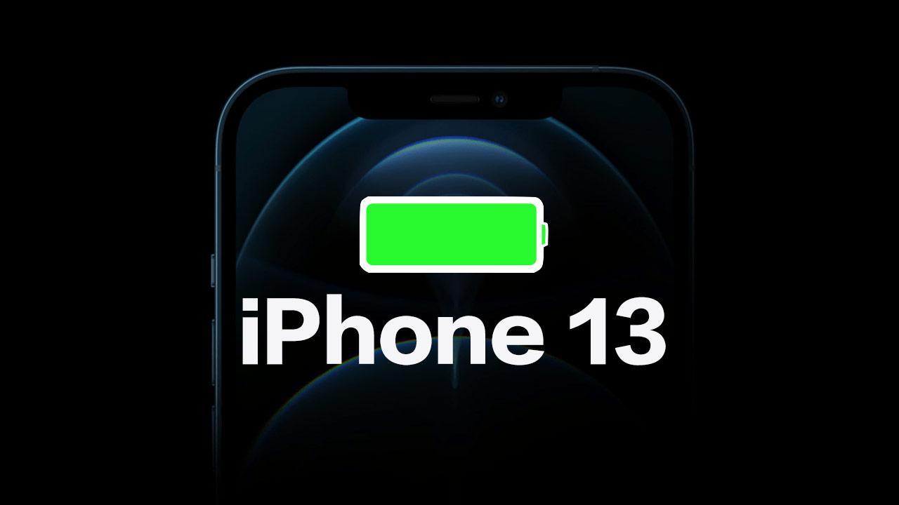 iPhone 13電池與充電