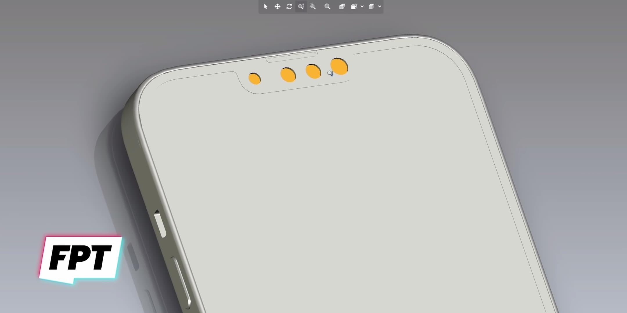iPhone 13和 iPhone 13 Pro CAD洩密!外觀有兩大明顯改變 1