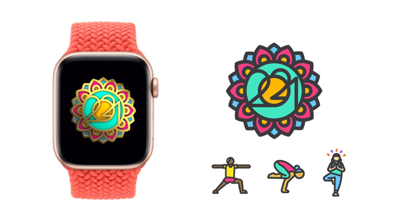Apple Watch 國際瑜伽日限定貼圖怎麼拿?搭配3款瑜伽App輕鬆達成