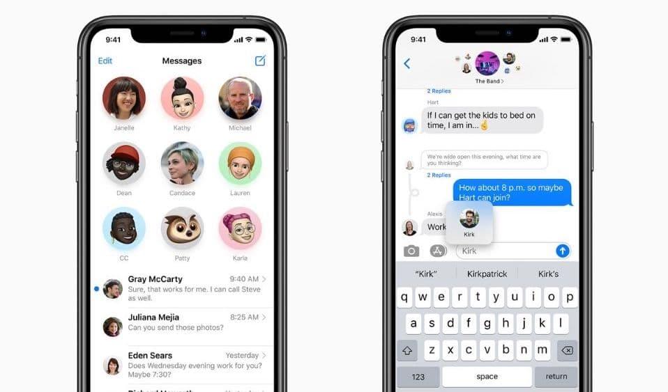 iOS 15加強 iMessage 社交功能