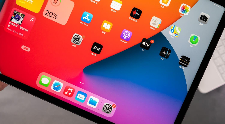 12.9吋 iPad Pro 的 mini-LED 螢幕表現