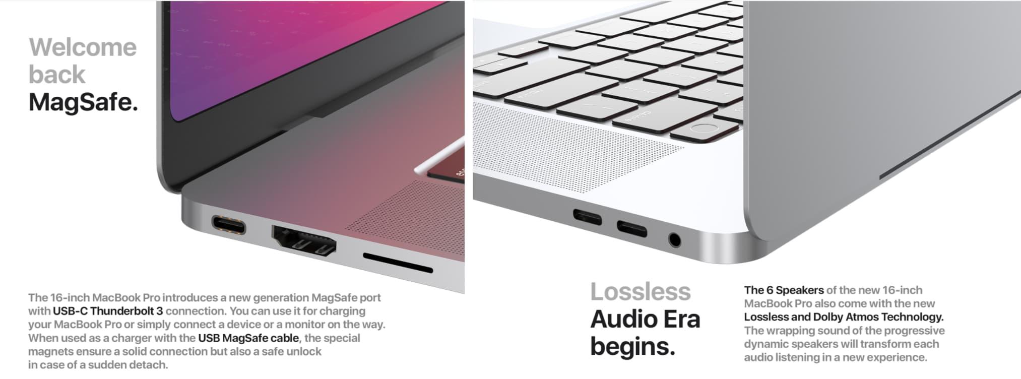 M1X MacBook Pro 2021更多連接埠