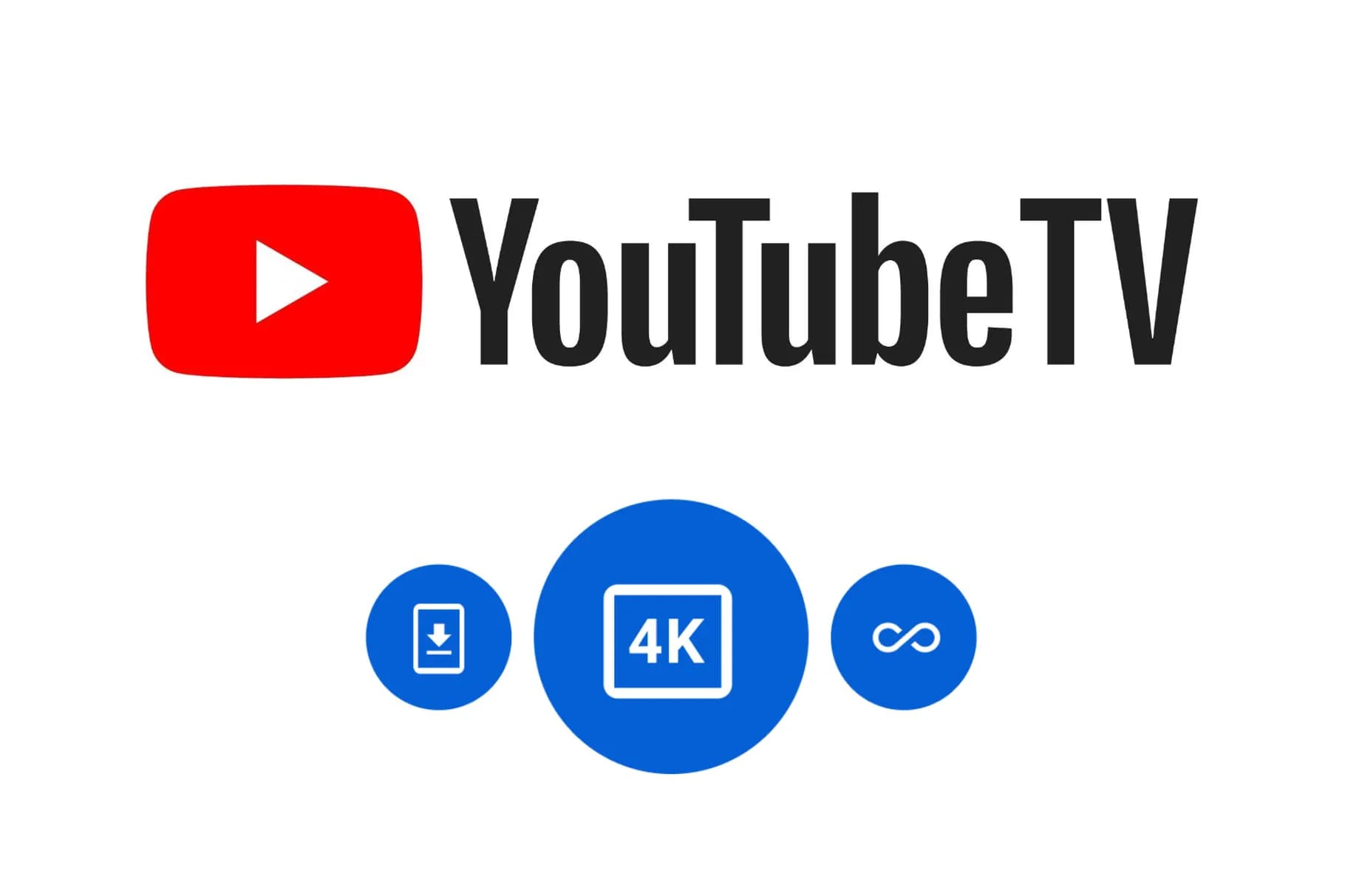 YouTube TV Plus 方案推出!支援4K播放、離線下載功能