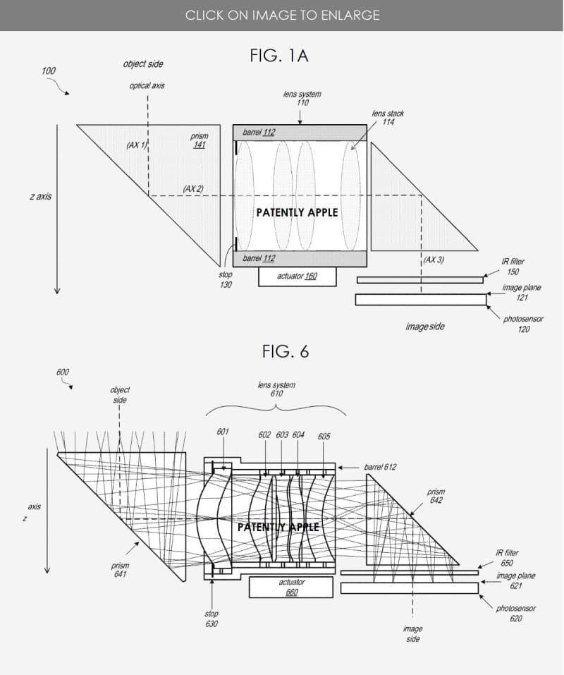 蘋果取得iPhone 潛望式鏡頭專利,最快2022或2023年推出1