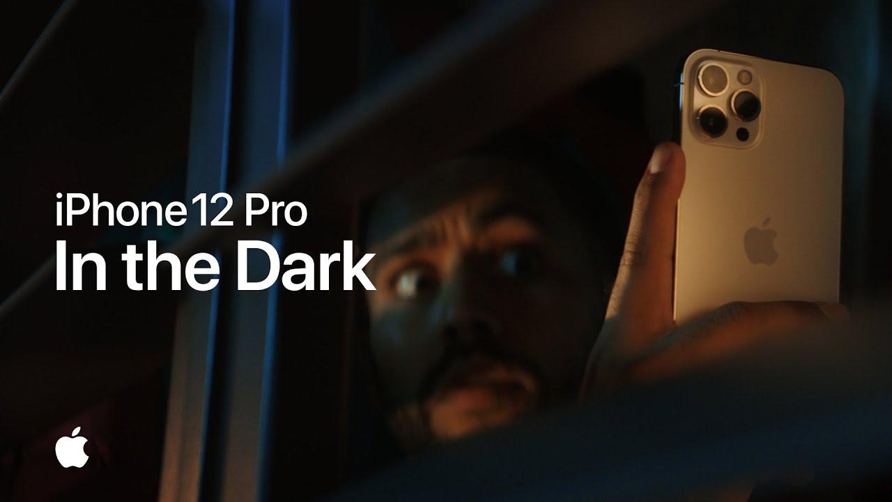 蘋果手機廣告秀iPhone 12 Pro 自拍鏡頭支援夜間拍攝