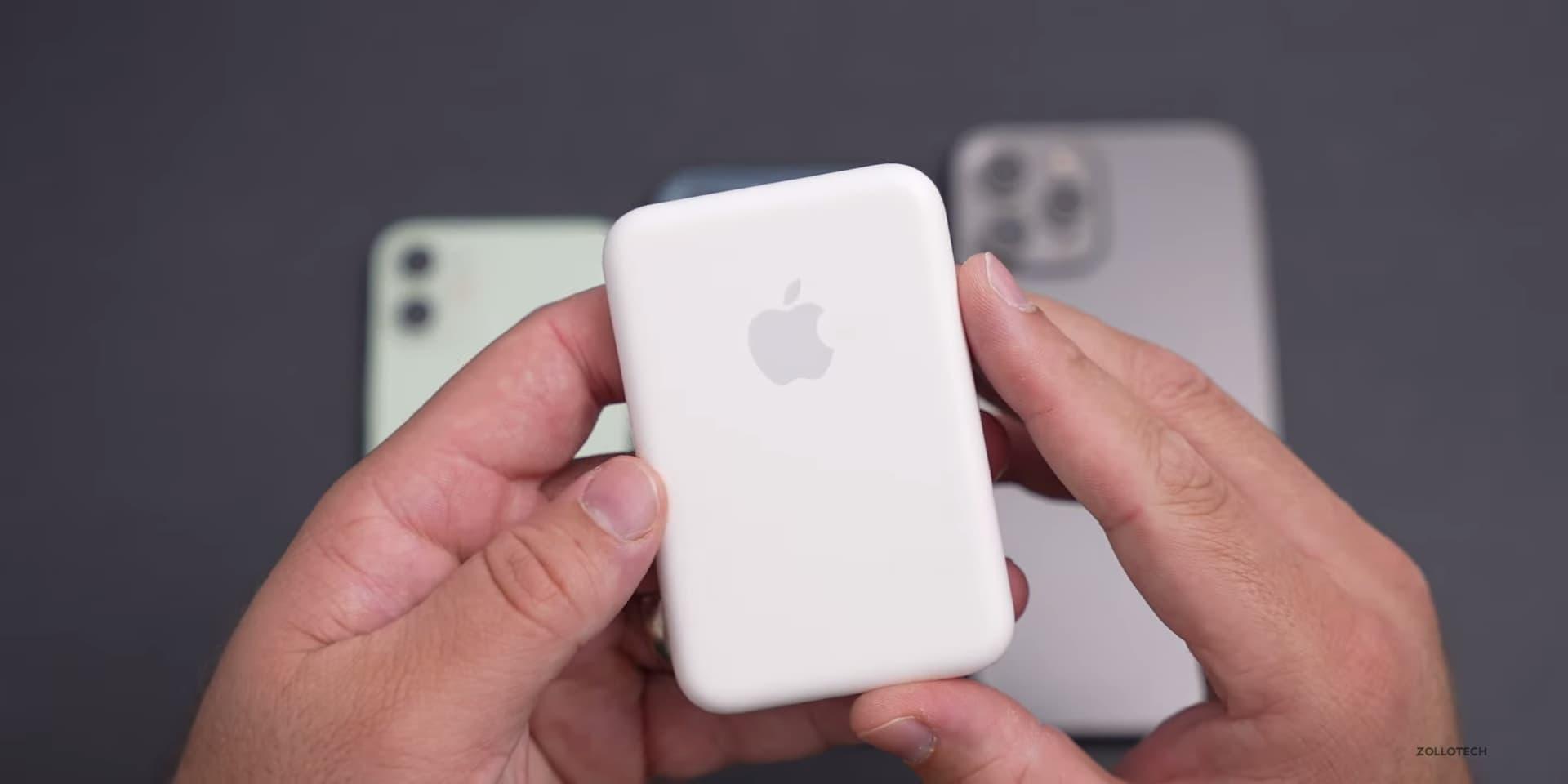 Apple MagSafe外接式電池開箱評測,最不值得入手配件產品