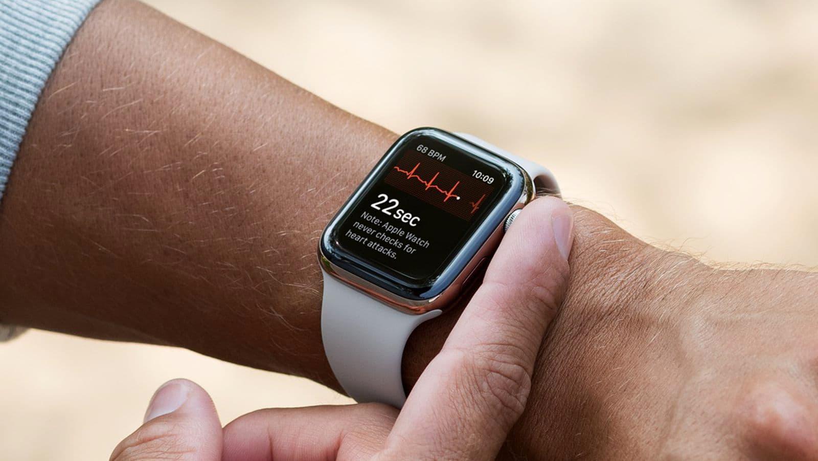 Apple Watch心電圖再創奇蹟!成功拯救心臟病婦女的性命