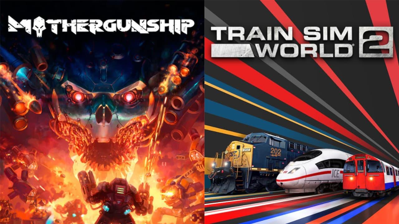 Epic Games限時免費送《模擬火車世界2》《Mothergunship》