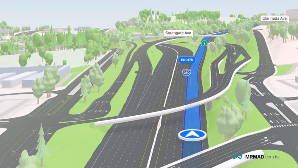 3D道路、山坡地形2