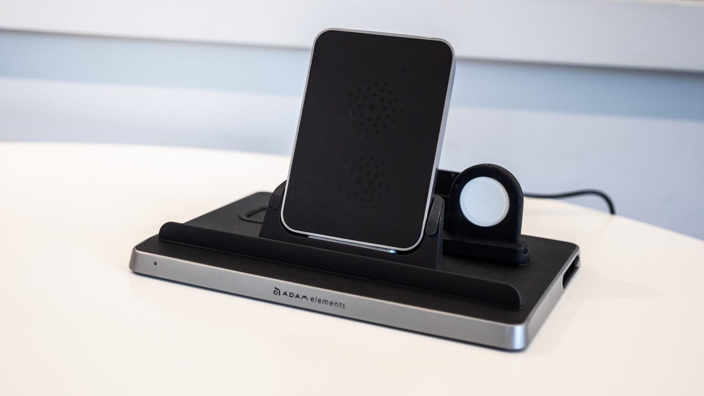 亞果 OMNIA Q5 開箱評測:蘋果五合一充電座,充電、收納一次解決1
