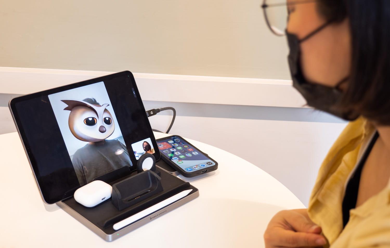 搖身變成 iPad支架功能1