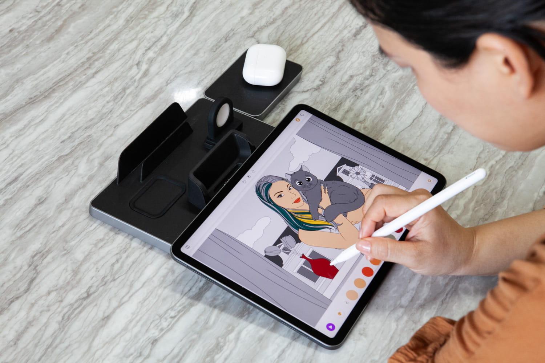 搖身變成 iPad支架功能3