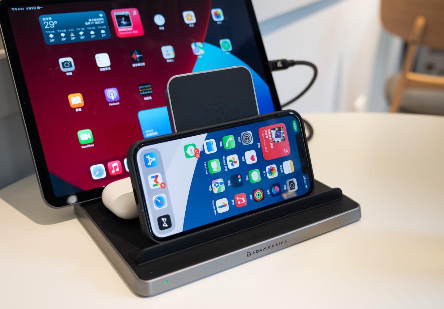 亞果 OMNIA Q5 開箱評測:蘋果五合一充電座,充電、收納一次解決3