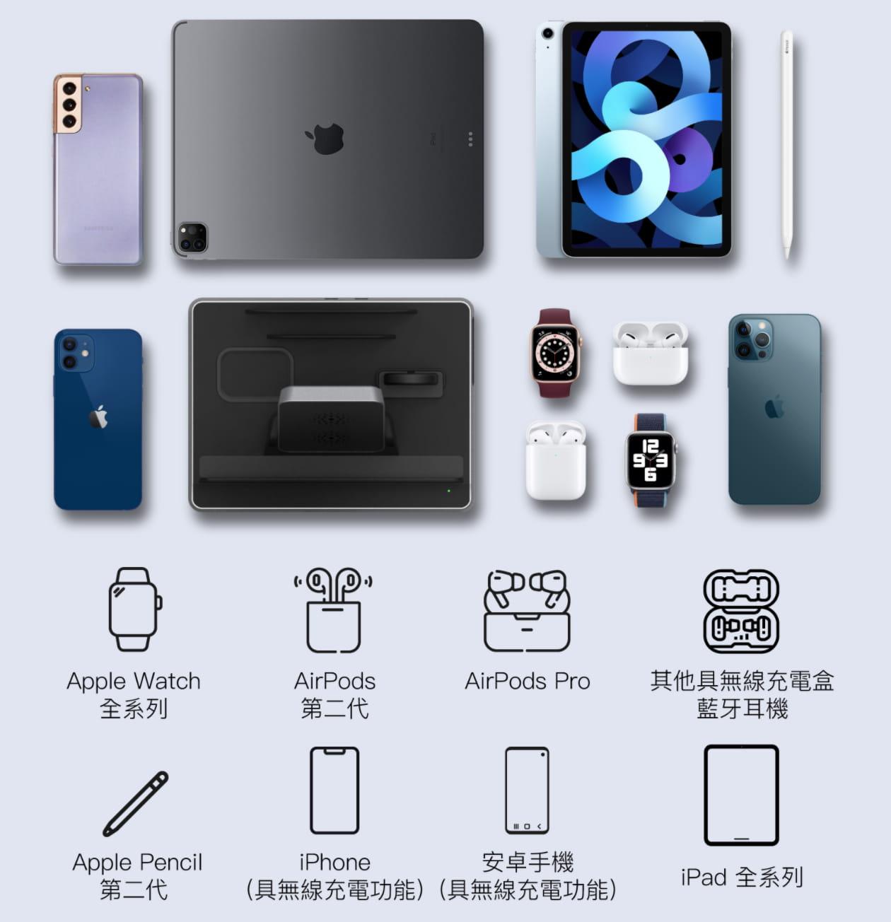 亞果 OMNIA Q5 開箱評測:蘋果五合一充電座,充電、收納一次解決4