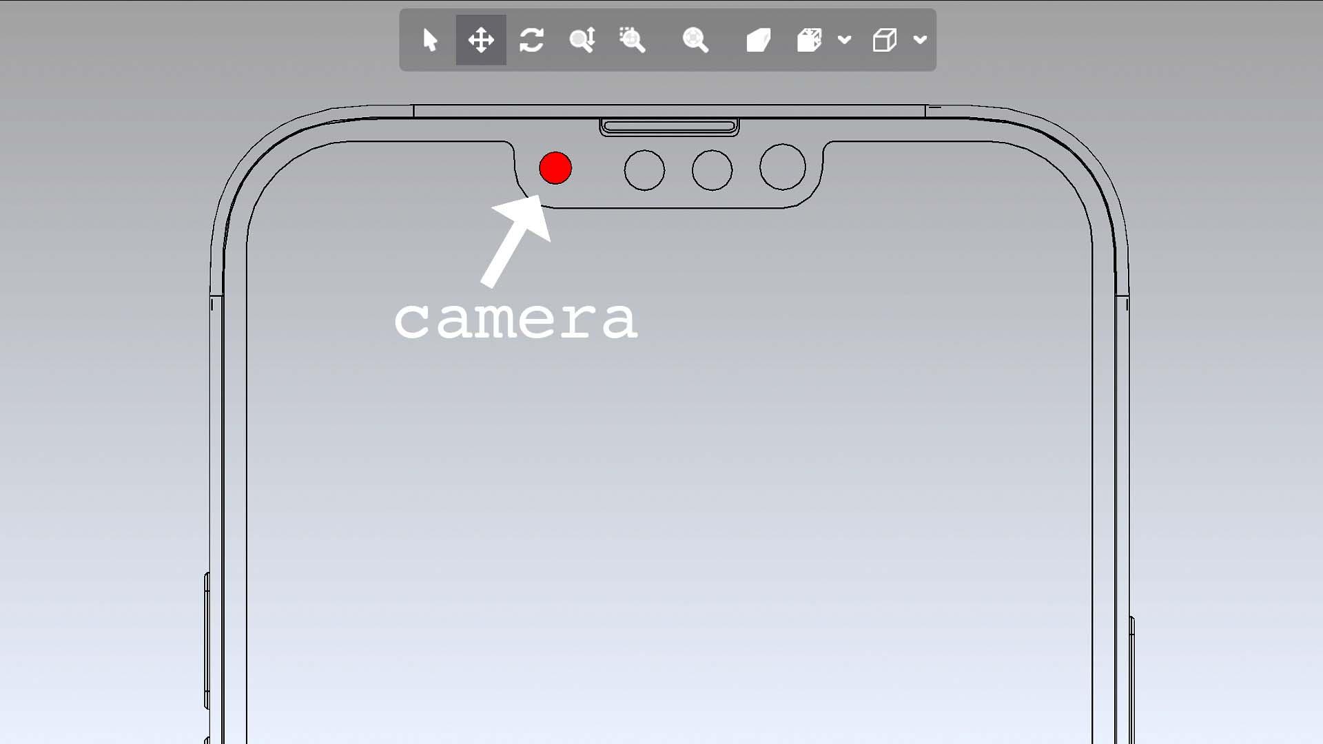 iPhone 13 Pro CAD 設計圖