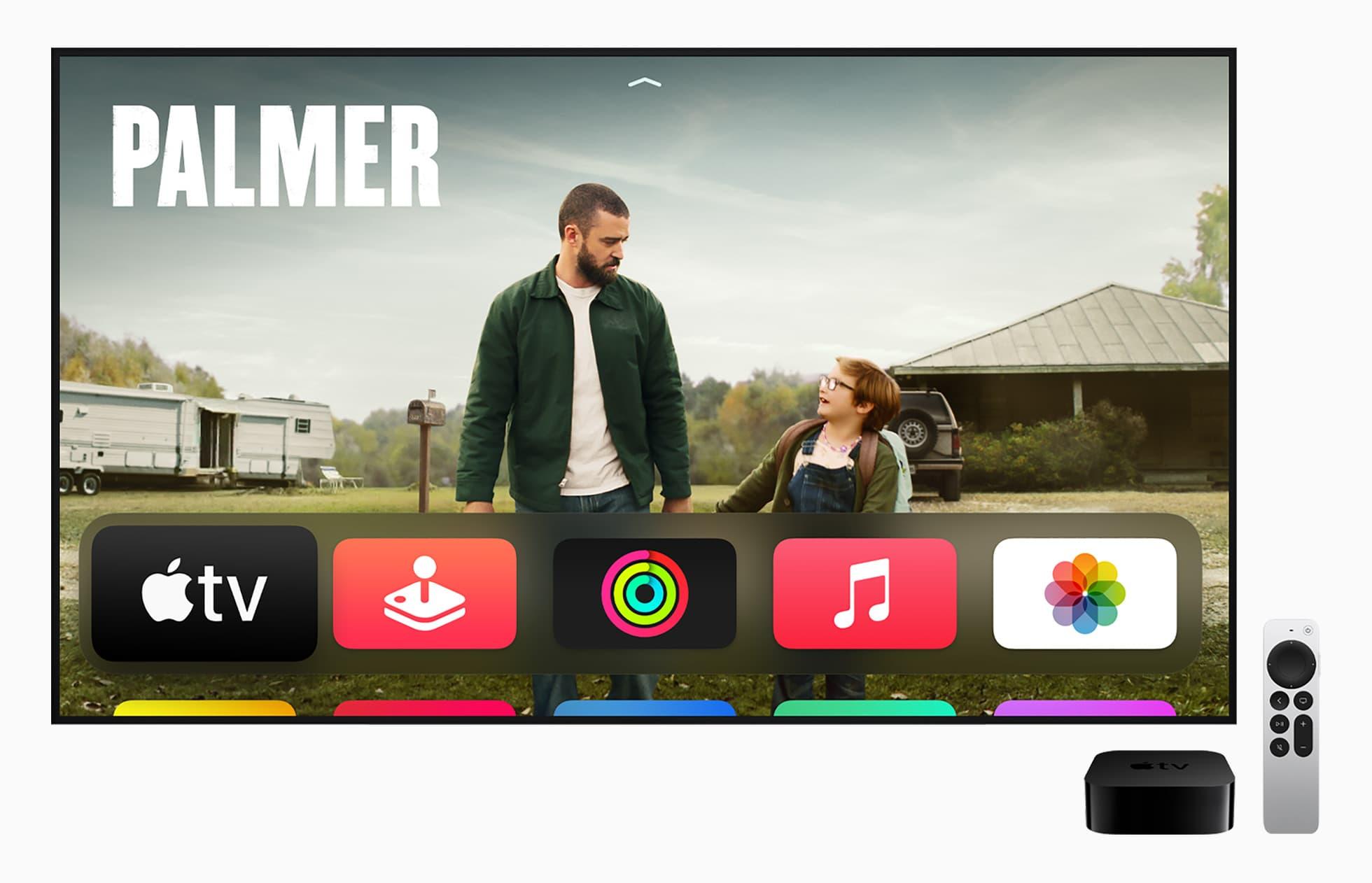 Apple TV 4K:完美家庭劇院