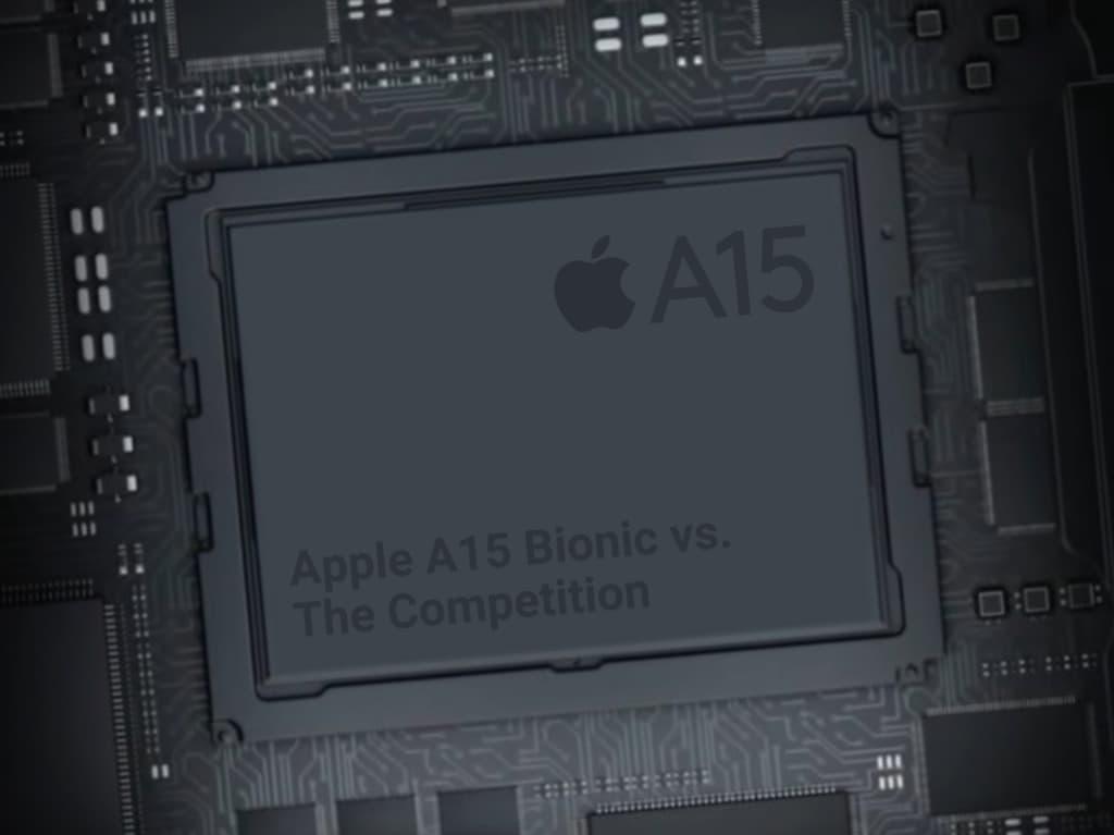 蘋果A15晶片跑分曝光,GPU效能依舊領先Android手機1