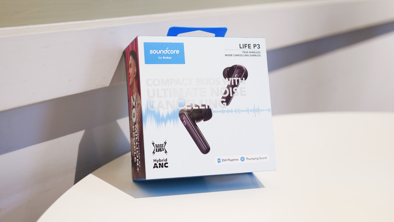 Soundcore Life P3 外盒包裝