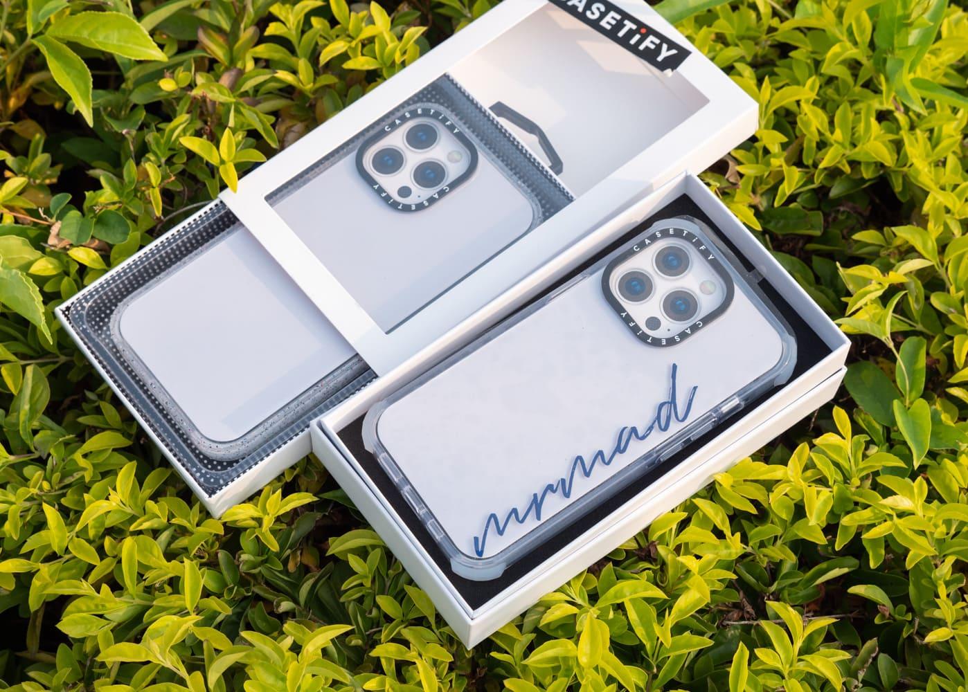 CASETiFY iPhone 13 防摔系列手機殼開箱2