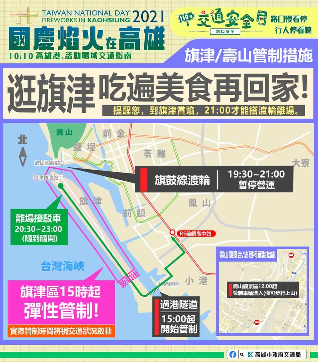 交通管制地點、交管時間1